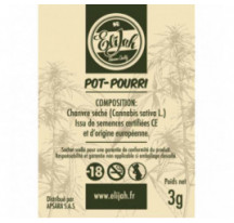 POT-POURRI CBD GREEN GRAPE Fleur 3g