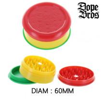 Grinder acrylique 60 MM 3 parties Dope Bros