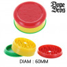 Grinder acrylique 60 MM 3 parties Dope Bros