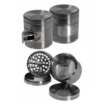 Grinder avec éjection gris 4 parties 63mm