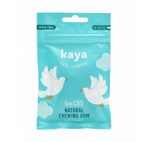 Chewing-gum CBD Naturel KAYA 5mg