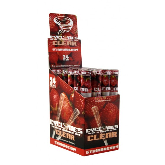 CYCLONES CLEAR FRAISE