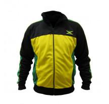 Veste JAMAICA polyester coloris vert/jaune/noir