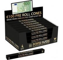 Cones pre-roulé billet 100€