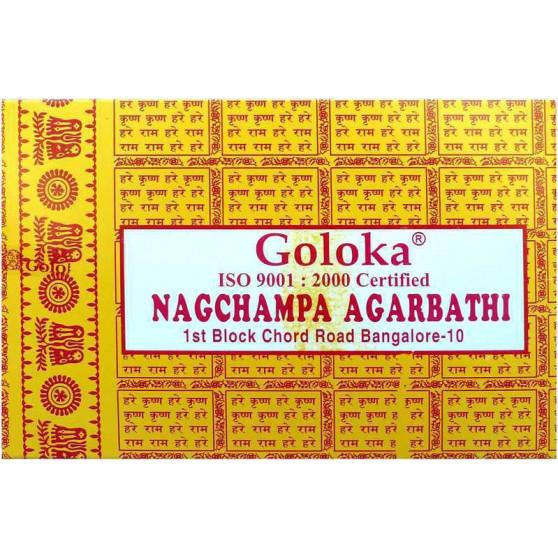 GOLOKA NAGCHAMPA AGARBATHI X16