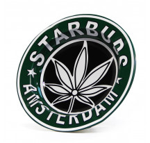 Cendrier metal rond FEUILLE AMSTERDAM