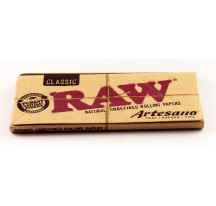 FEUILLE SLIM + TIPS RAW ARTESANO