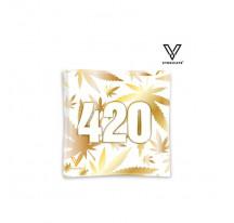 Cendrier Verre Carré 420 Gold