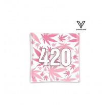 Cendrier Verre Carré 420 Pink