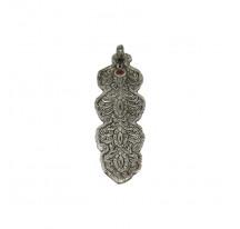 Porte encens métal 25cm motif Elephant