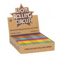 Feuilles slim non blanchies LION CIRCUS ROLLING