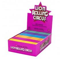 Feuilles slim transparentes LION CIRCUS ROLLING