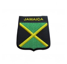 PATCH THERMOCOLLANT RECTANGLE DRAPEAU JAMAICA