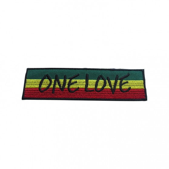 PATCH THERMOCOLLANT ONE LOVE RECTANGLE