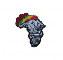 PATCH THERMOCOLLANT LION FORME AFRIQUE