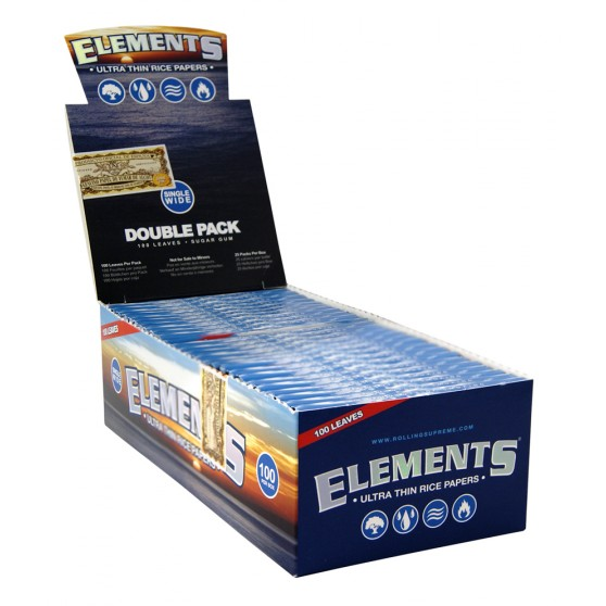 FEUILLE COURTE ELEMENTS DOUBLE PACK
