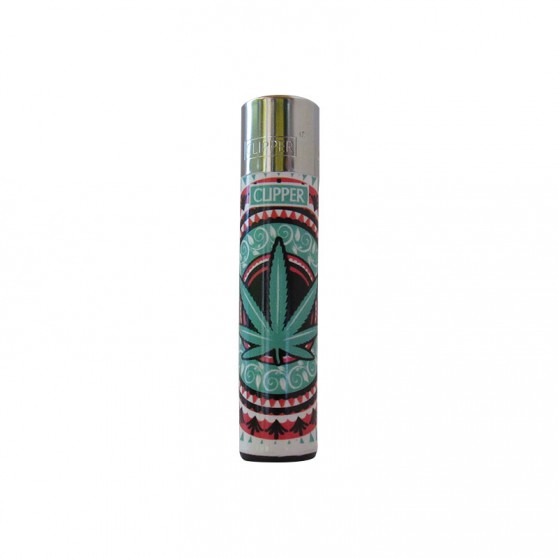 CLIPPER FEUILLE TURQUOISE