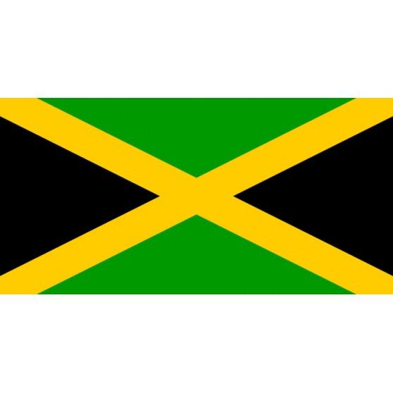 DRAPEAUX POLYESTER JAMAIQUE