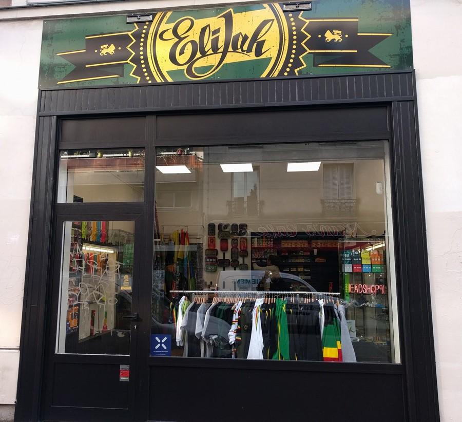Ouverture de notre Reggae & Smoke Shop à Paris